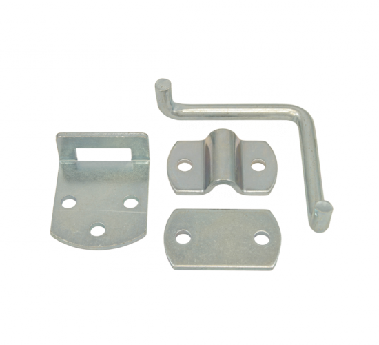 WHCSIDEKIT: Zinc Plated Side Gate Latch Kit