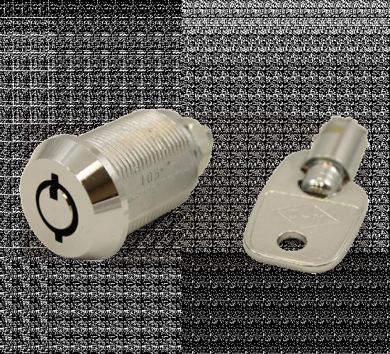 Cam locks tubular key western hardware