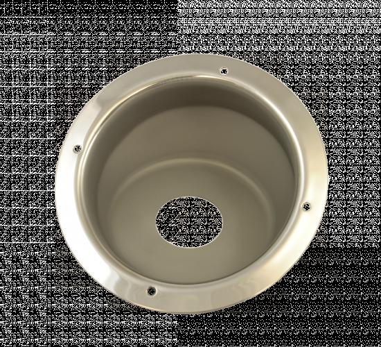 WHCSSFB-GM21-U: Urea Additive Rivet-On 21 Degree Fuel Bucket