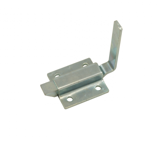 WHCDL2: Small Spring Loaded Bolt Latch with 2 inch Bent Tab